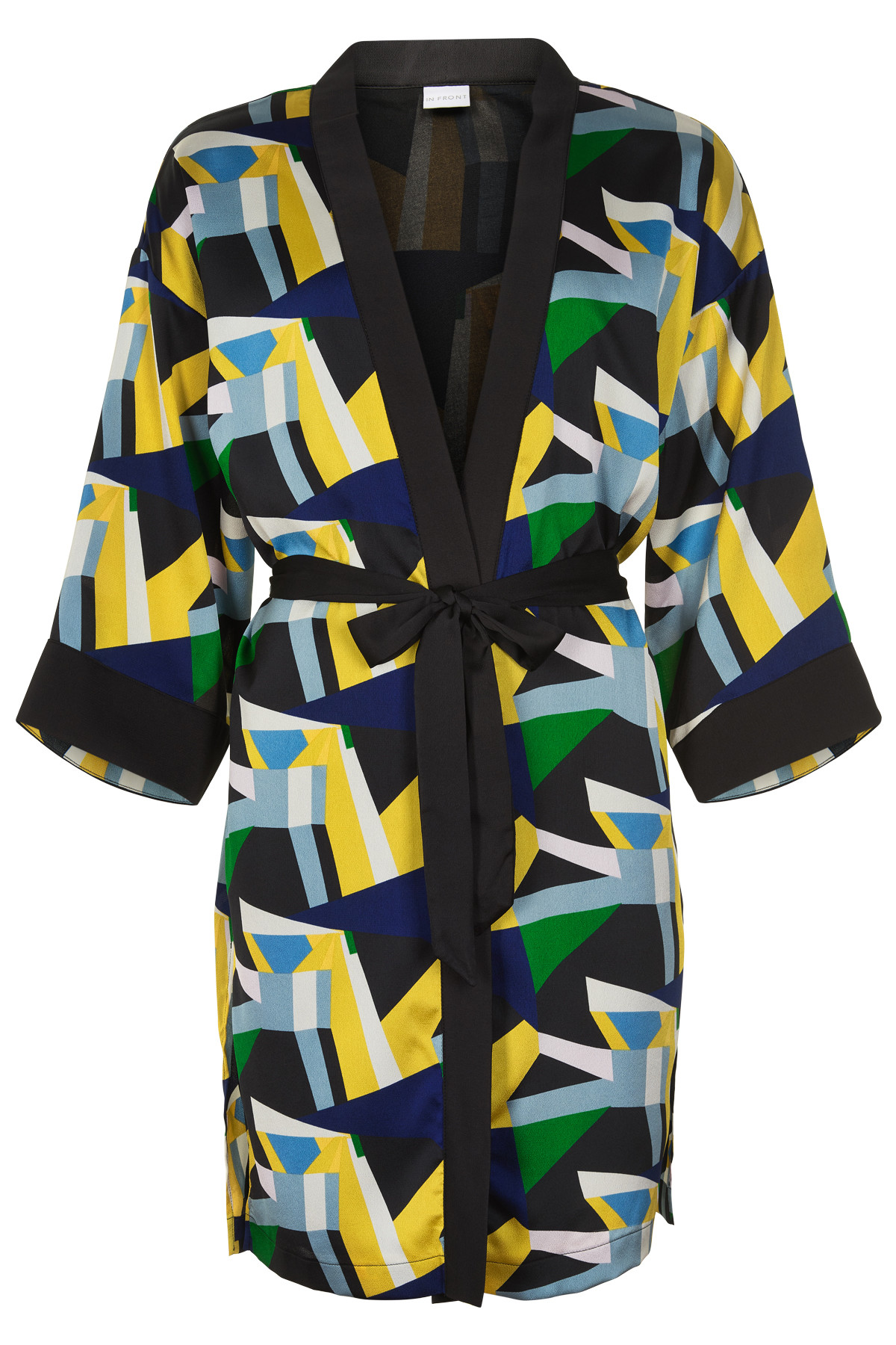 Image of   IN FRONT ISABEL KIMONO CARDIGAN 12858 (Multicolour 000, M/L)