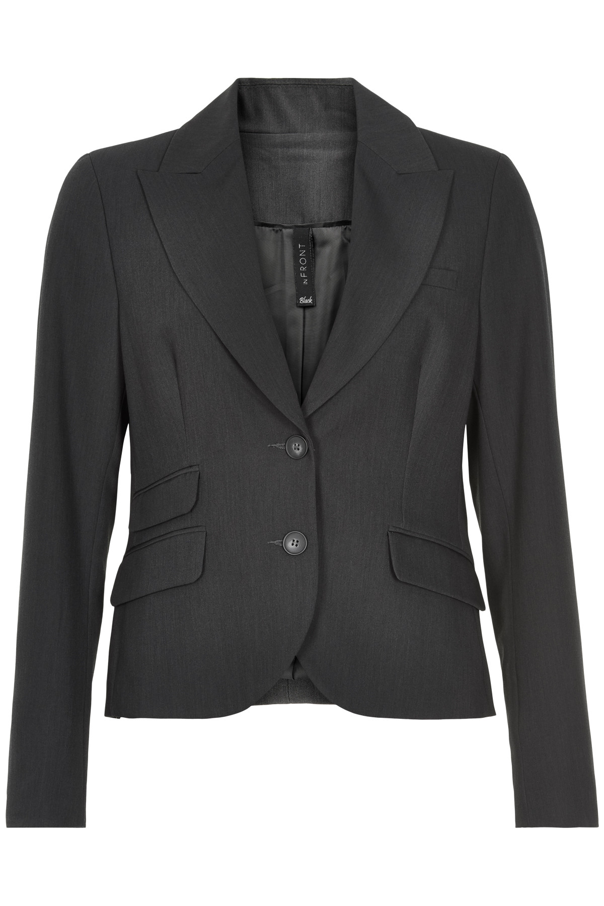 Image of   IN FRONT GYTA BLAZER 6222-650 D (Dark Grey Melange 950, 44)