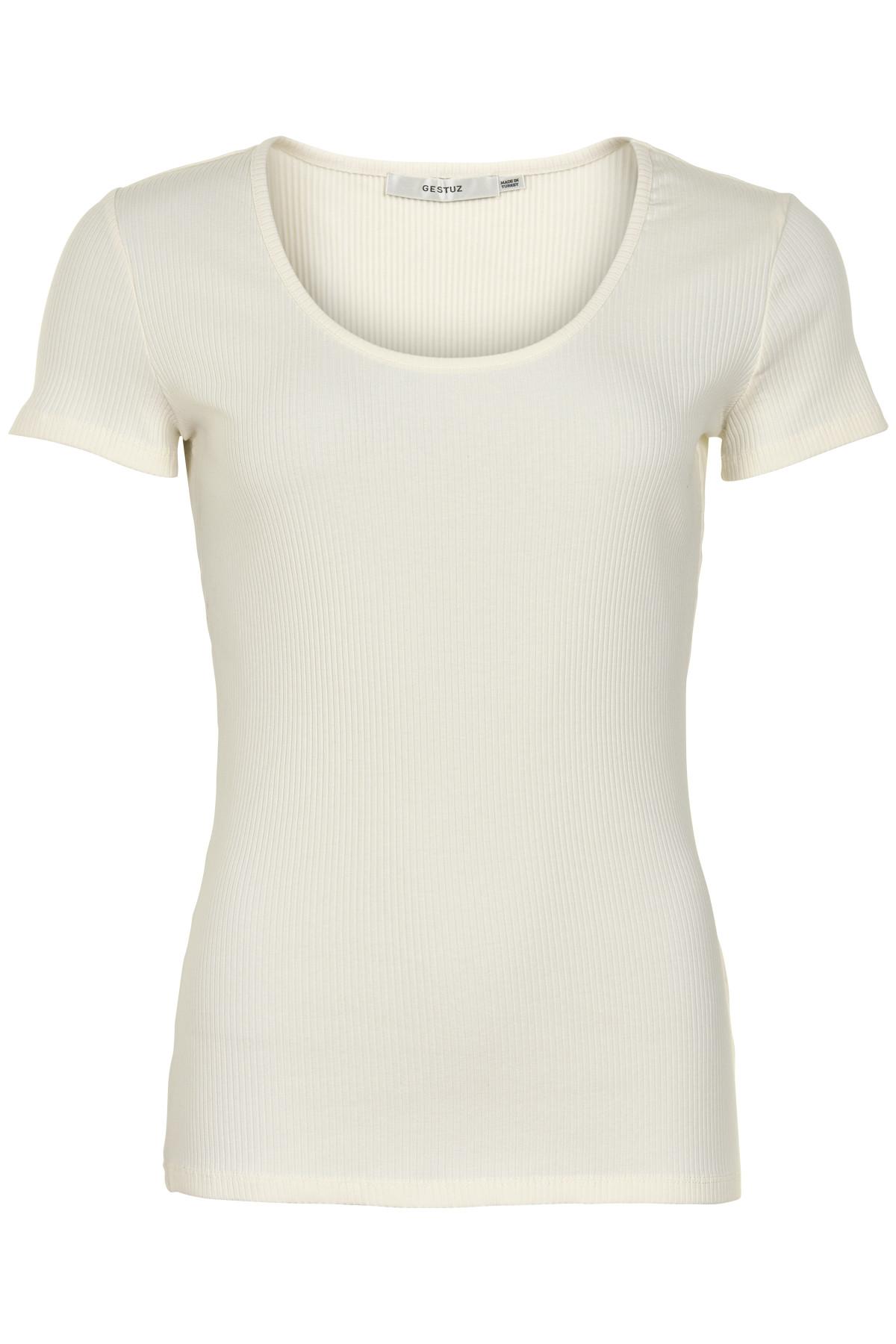 Image of   GESTUZ ROLLA TEE B (Bright White 90014, XS)