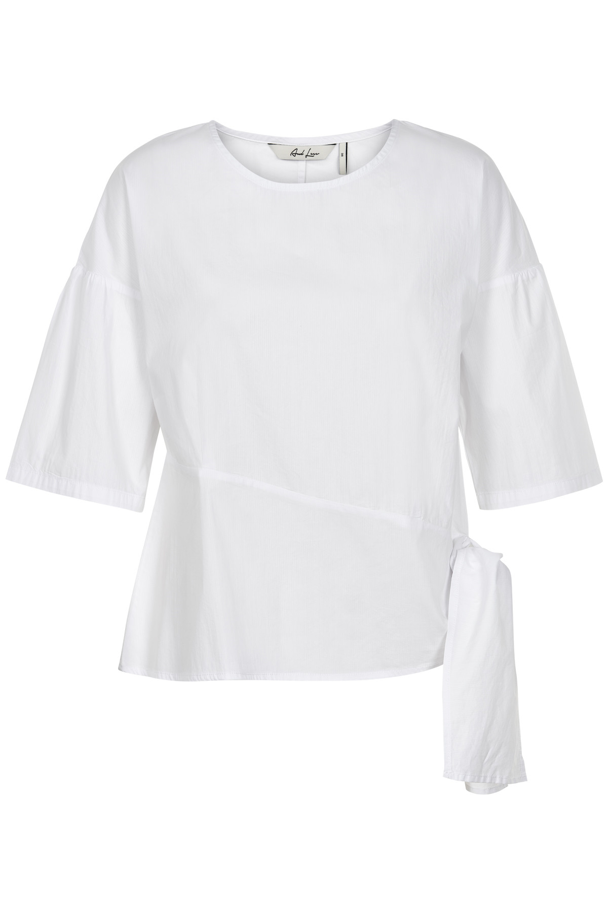 Image of   AND LESS LOREANE BLUSE 5119005 (Brilliant White, 36)