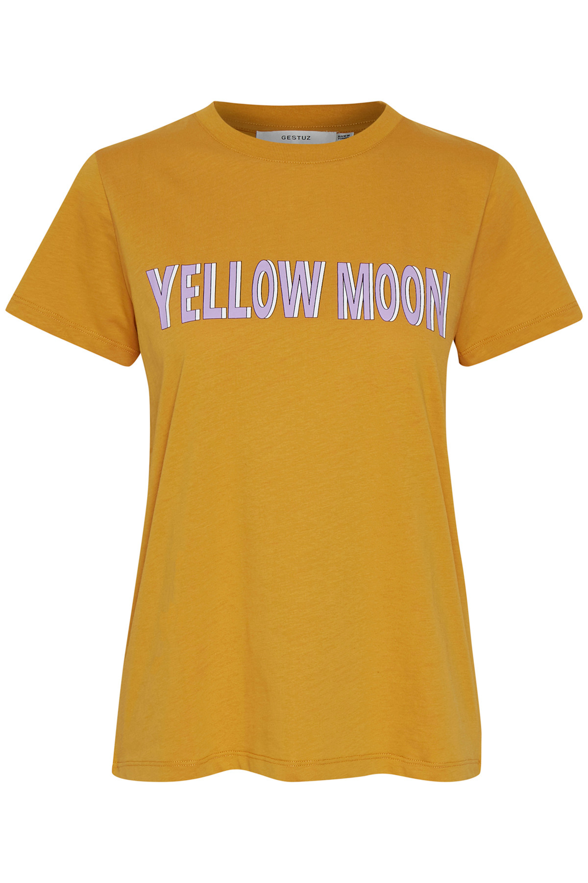 Image of   GESTUZ MOONGZ TEE N (Narcissus Yellow 90576, L)