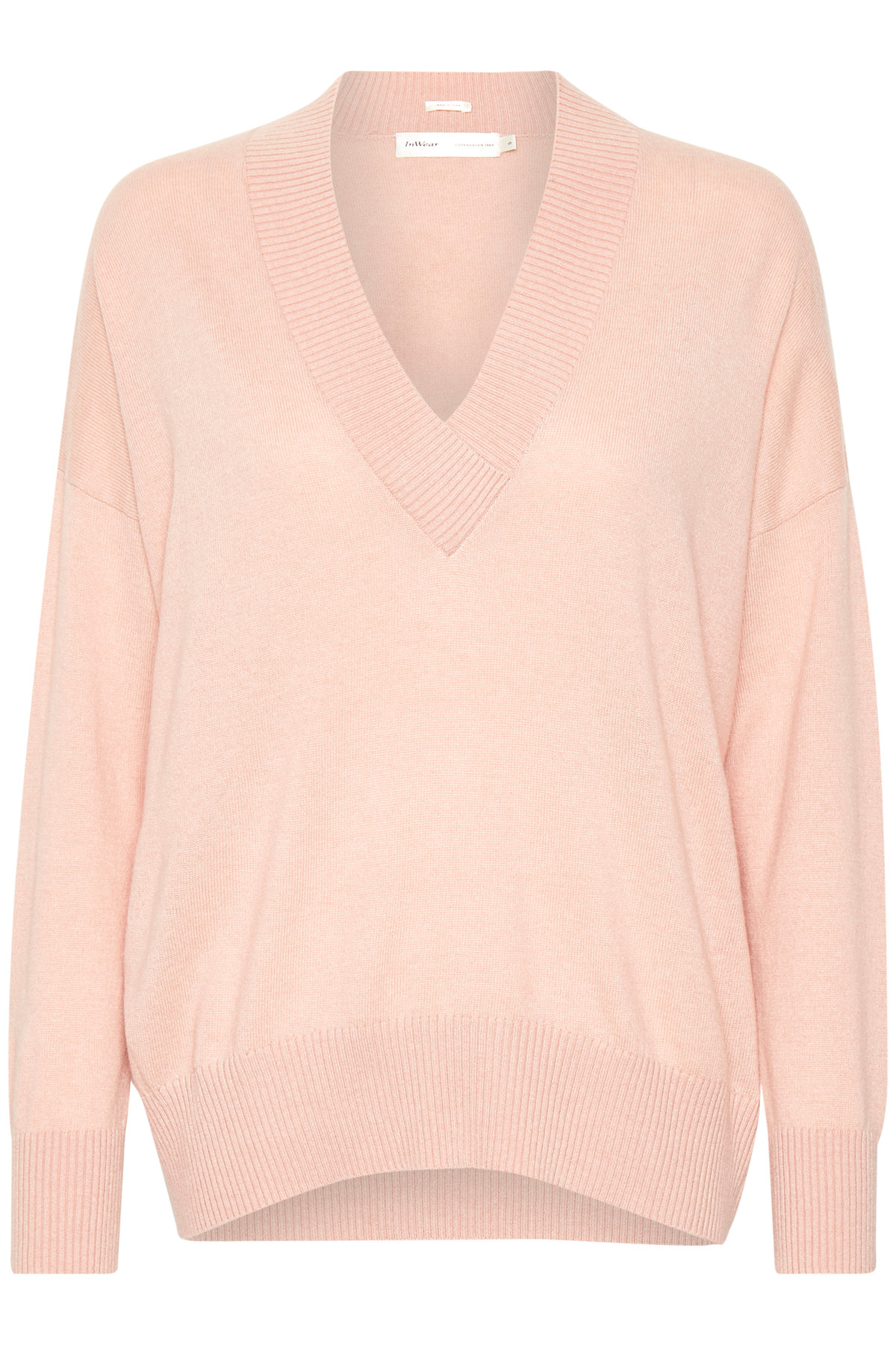 Image of   InWear RUMI V-NECK STRIK 30103998 R (Rose Dust 10516, L)