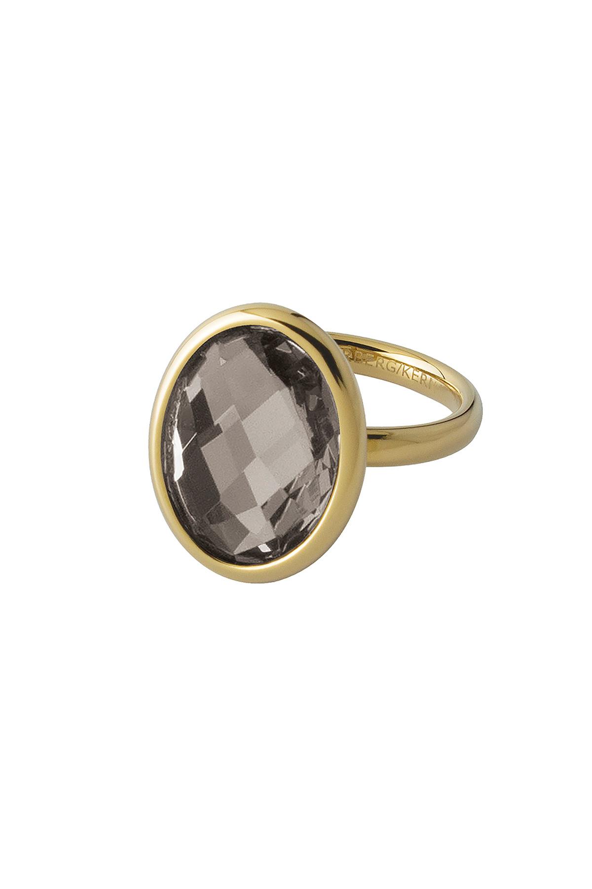 Image of   DYRBERG/KERN RHODA RING 352012 (Gold, Sand, III/57)
