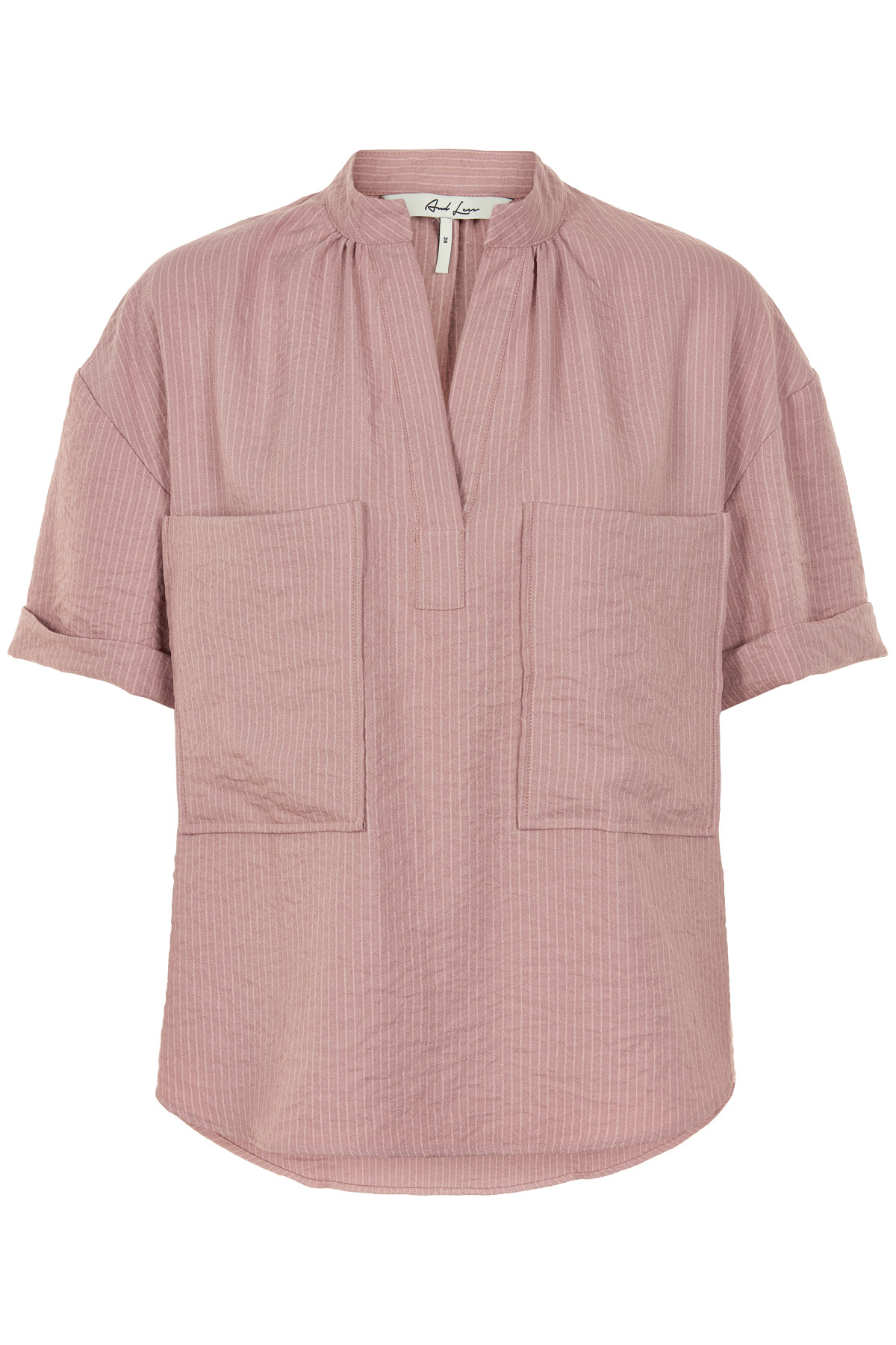 Image of   AND LESS ORIBELLA BLUSE 5219017 A (Ash Rose, 34)
