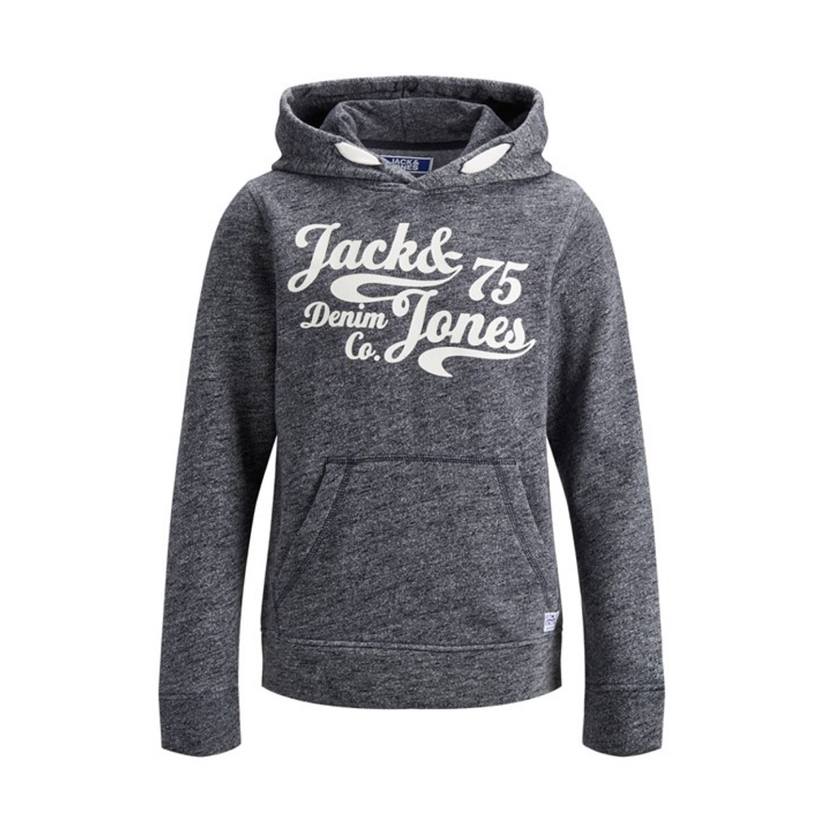 Image of   JACK & JONES JUNIOR JJEPANTHER SWEAT 12148420 (Navy Blazer/Whisper White, 128)