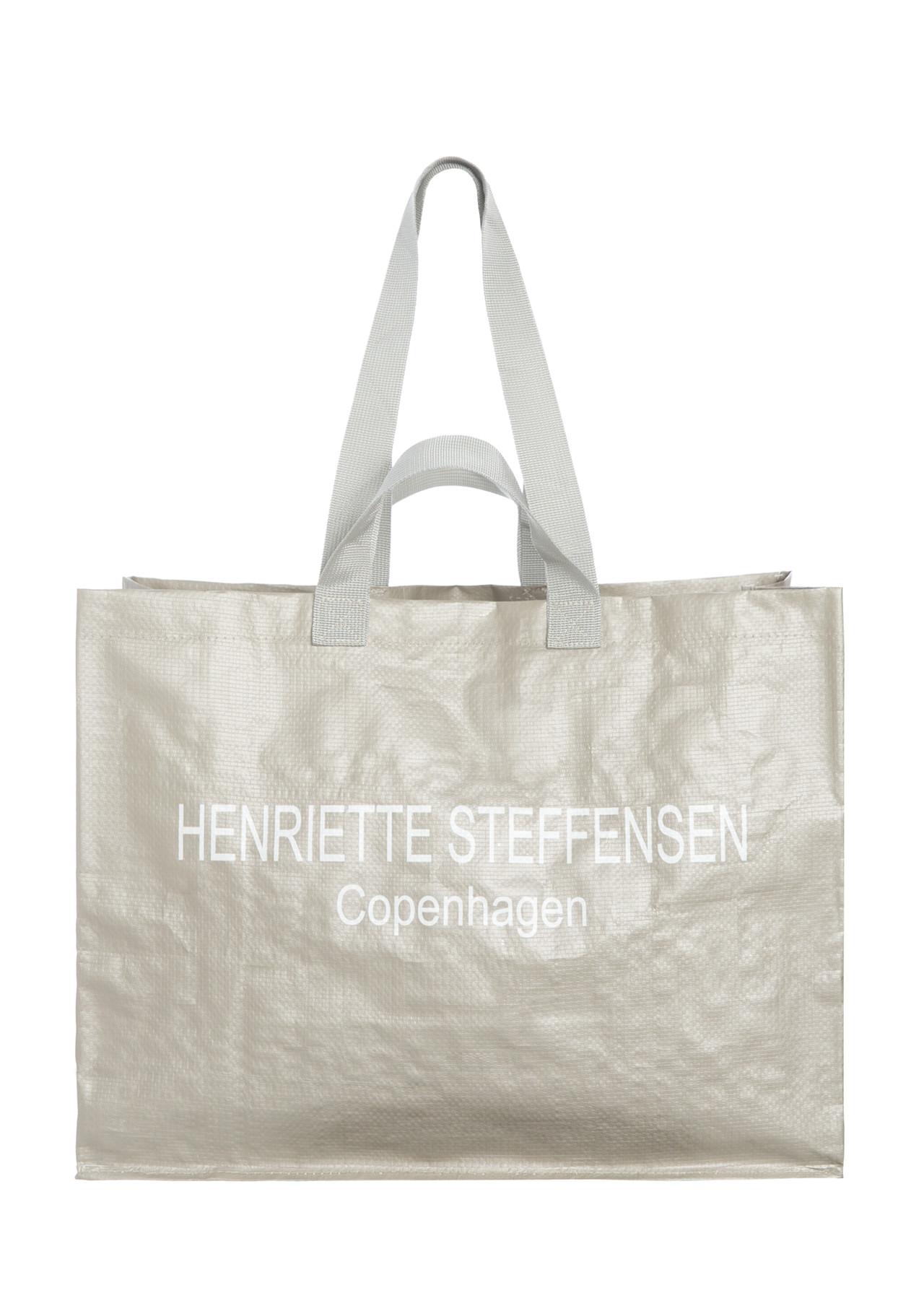 Image of   HENRIETTE STEFFENSEN Copenhagen 4058 SHOPPER SAND (Sand, ONESIZE)