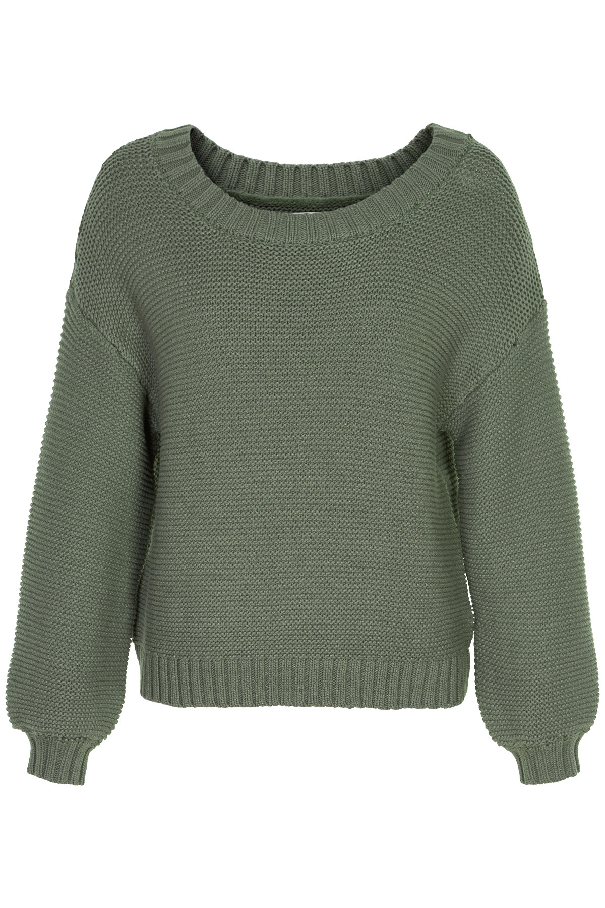 Image of   AND LESS RAIMONDO PULLOVER 5219206 (Castor Green, S)