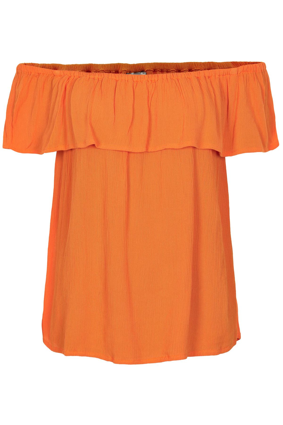 Image of   ICHI MARRAKECH TOP 20103351 17667 (Russet Orange 17667, M)