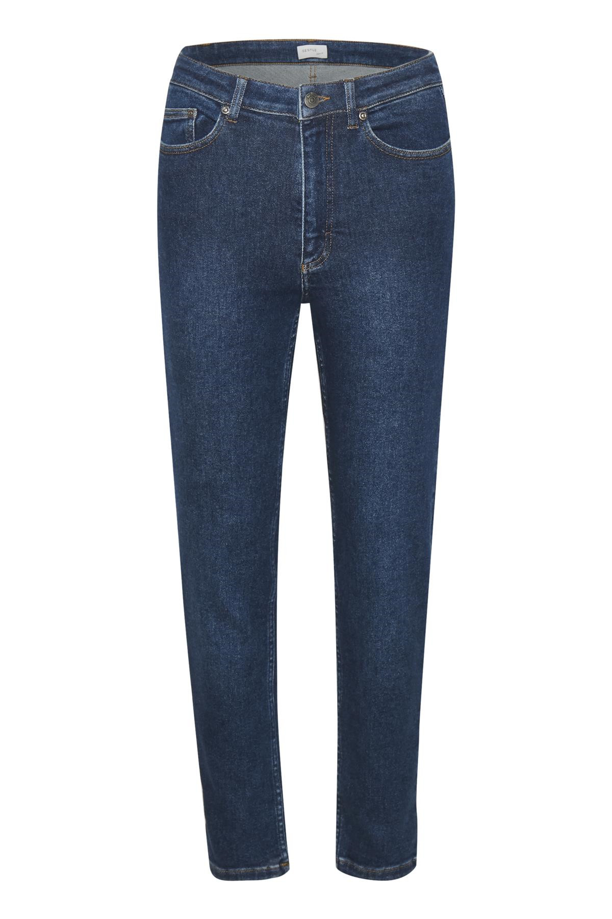 Image of   GESTUZ ASTRIDGZ MOM JEANS (Denim Blue 90009, 30)