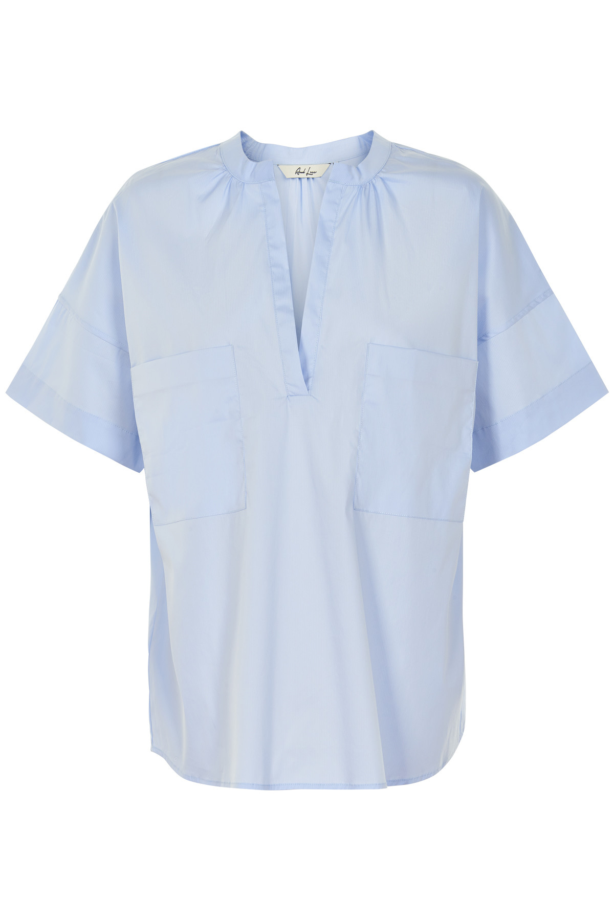 Image of   AND LESS ORIBELLA BLUSE 5219009 (Kentucky Blue, 38)