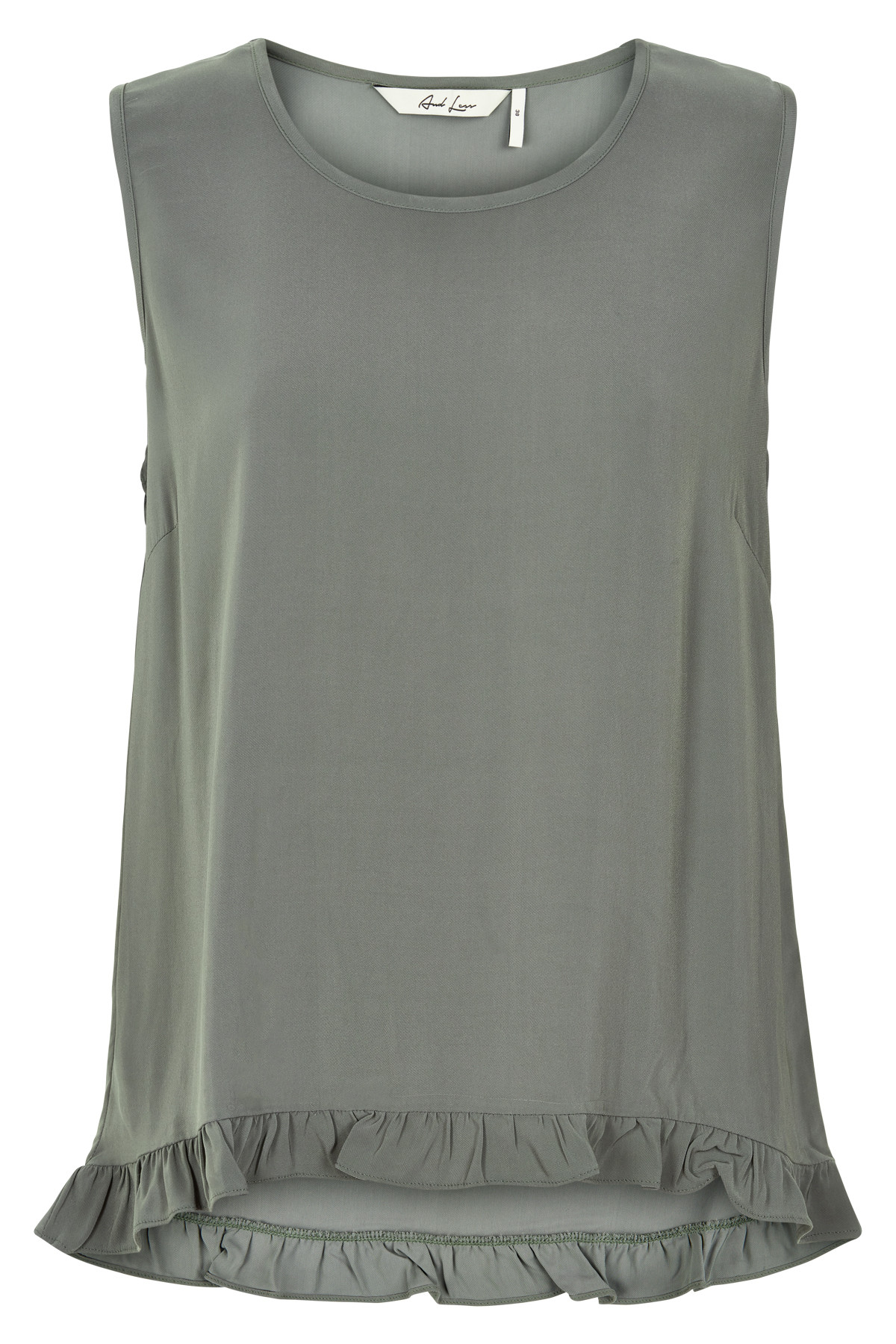 Image of   AND LESS NEW MYRTLE BLUSE 5219026 (Castor Green, 38)