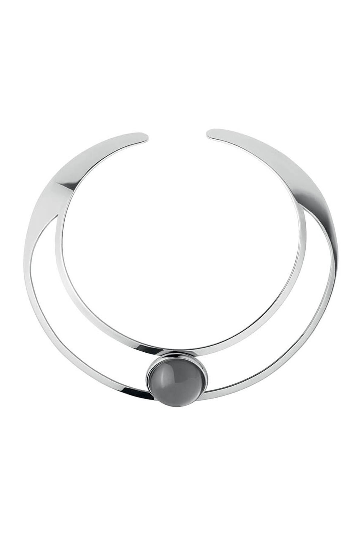 Image of   DYRBERG/KERN BAGOT HALSKÆDE 337819 (Silver, Grey, ONESIZE)