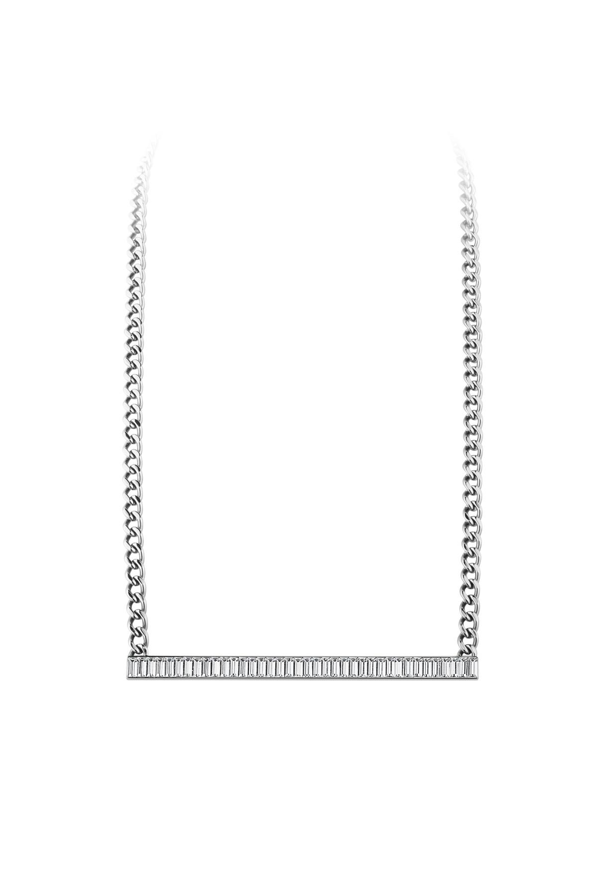 Image of   DYRBERG/KERN ALYSSA HALSKÆDE 339590 (Silver, Crystal, ONESIZE)