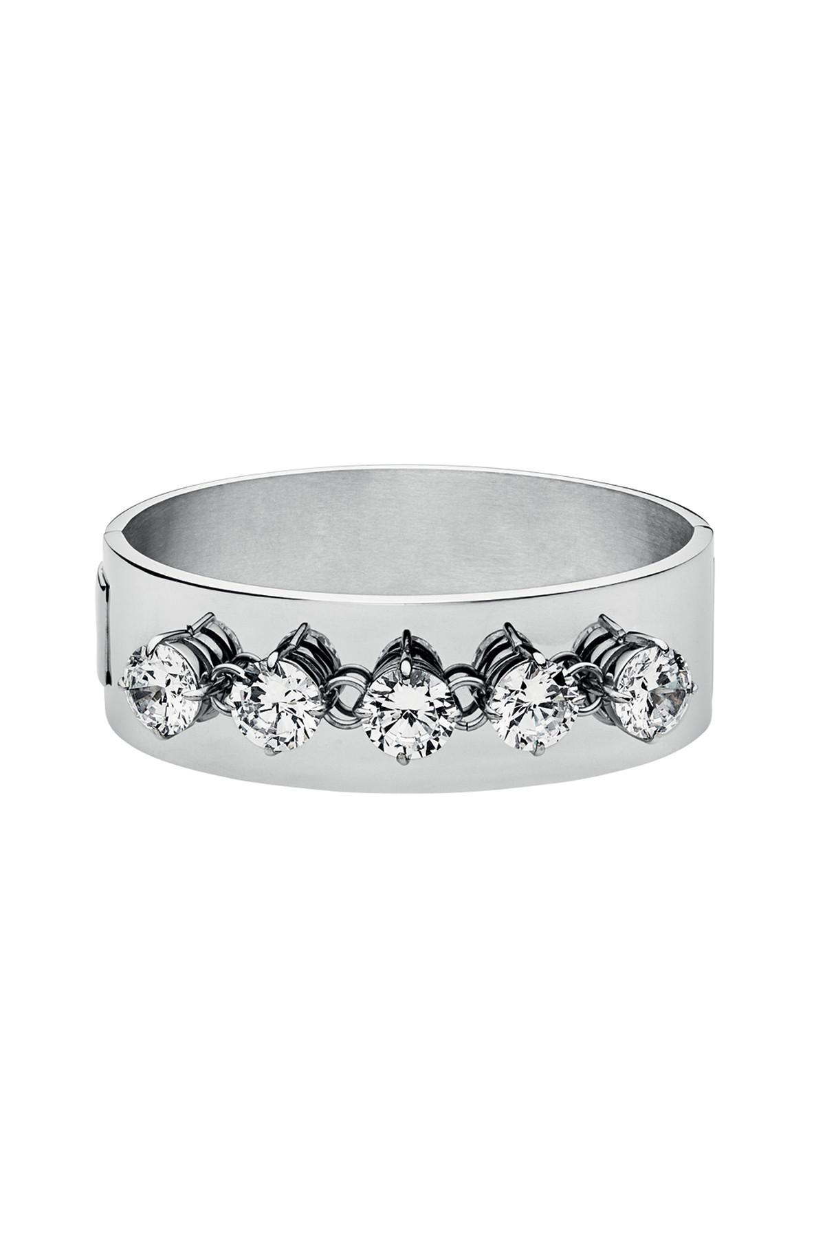 Image of   DYRBERG/KERN OPATRA/B ARMBÅND 335212 (Silver, Crystal, ONESIZE)