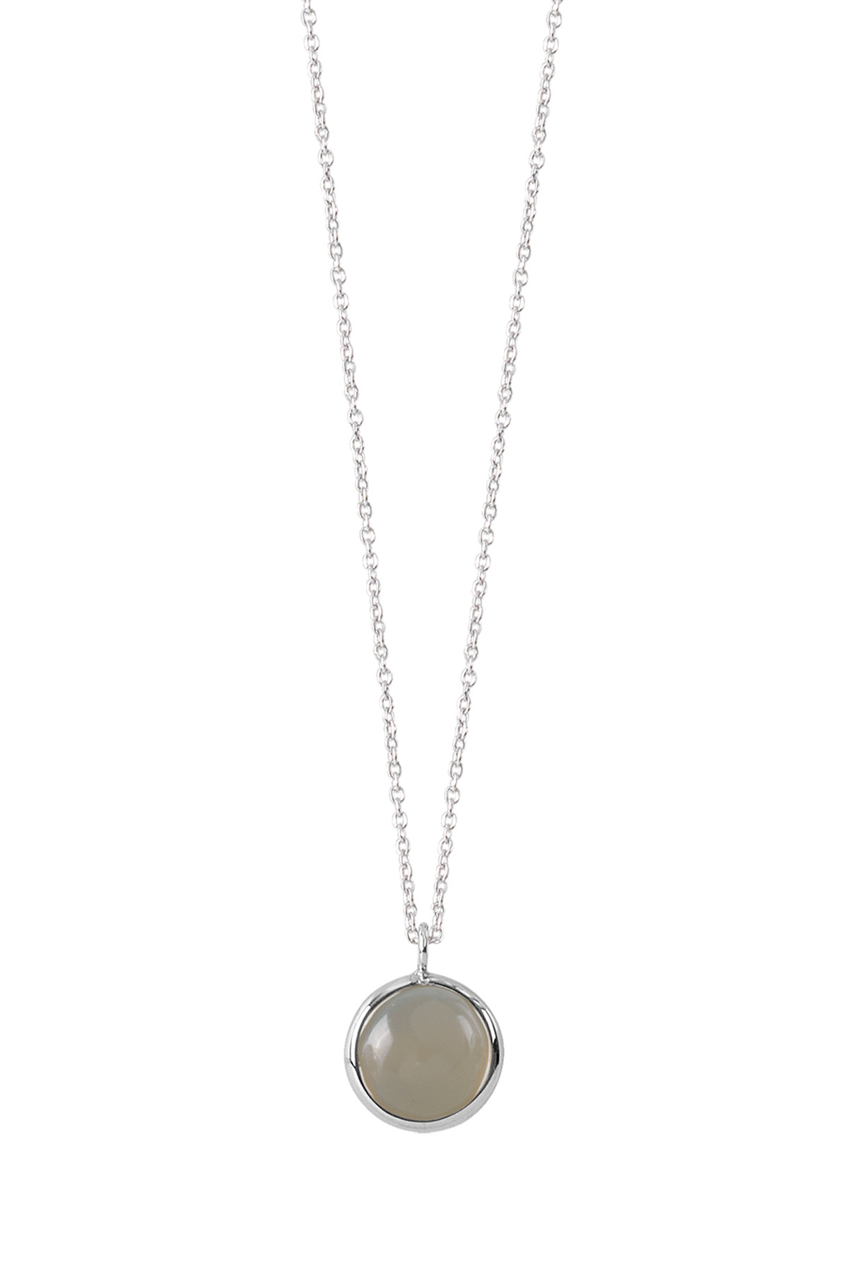 Image of   DYRBERG/KERN BRISE HALSKÆDE 400736 (Silver, Grey, ONESIZE)