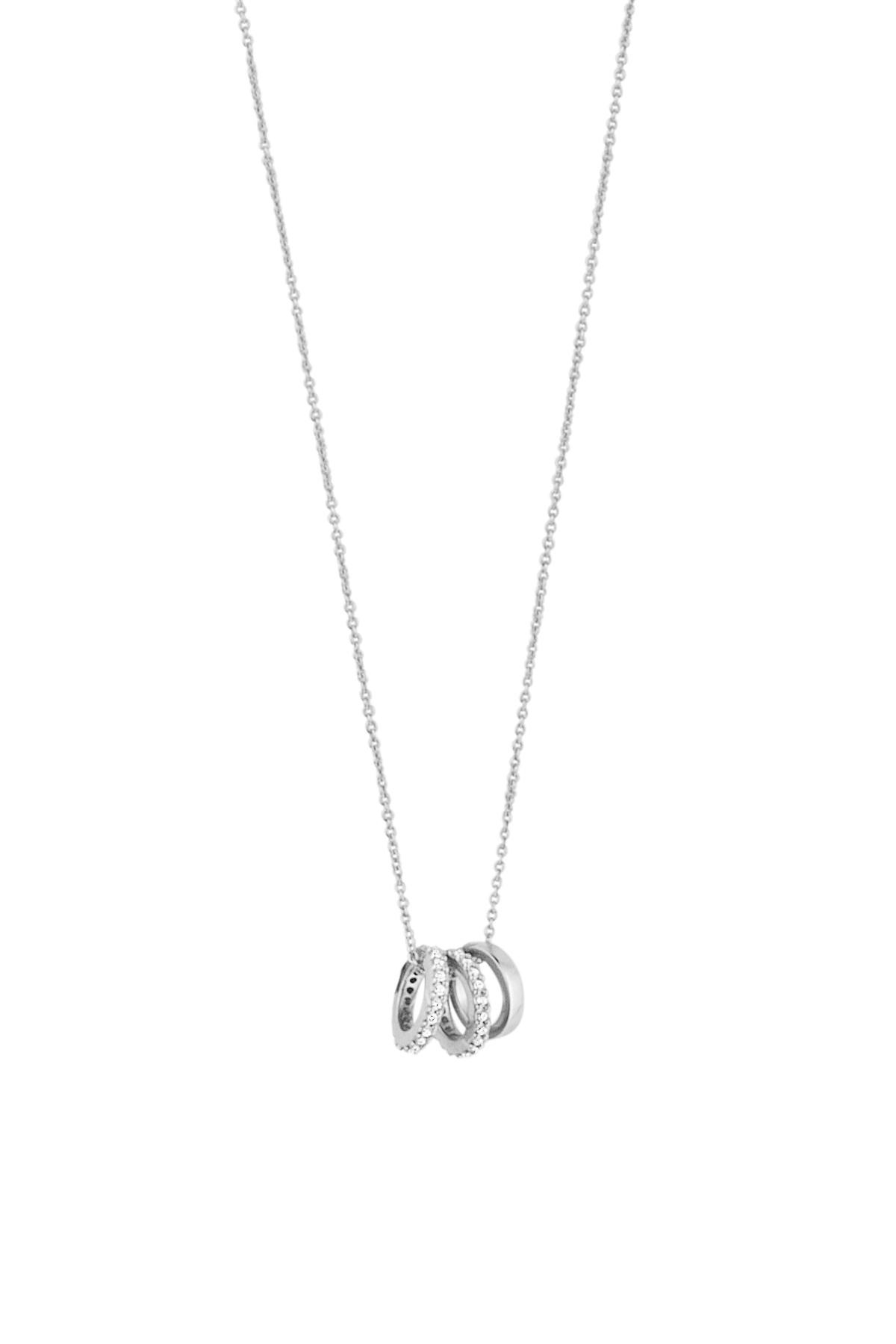 Image of   DYRBERG/KERN LISTON HALSKÆDE 400954 (Silver, Crystal, ONESIZE)