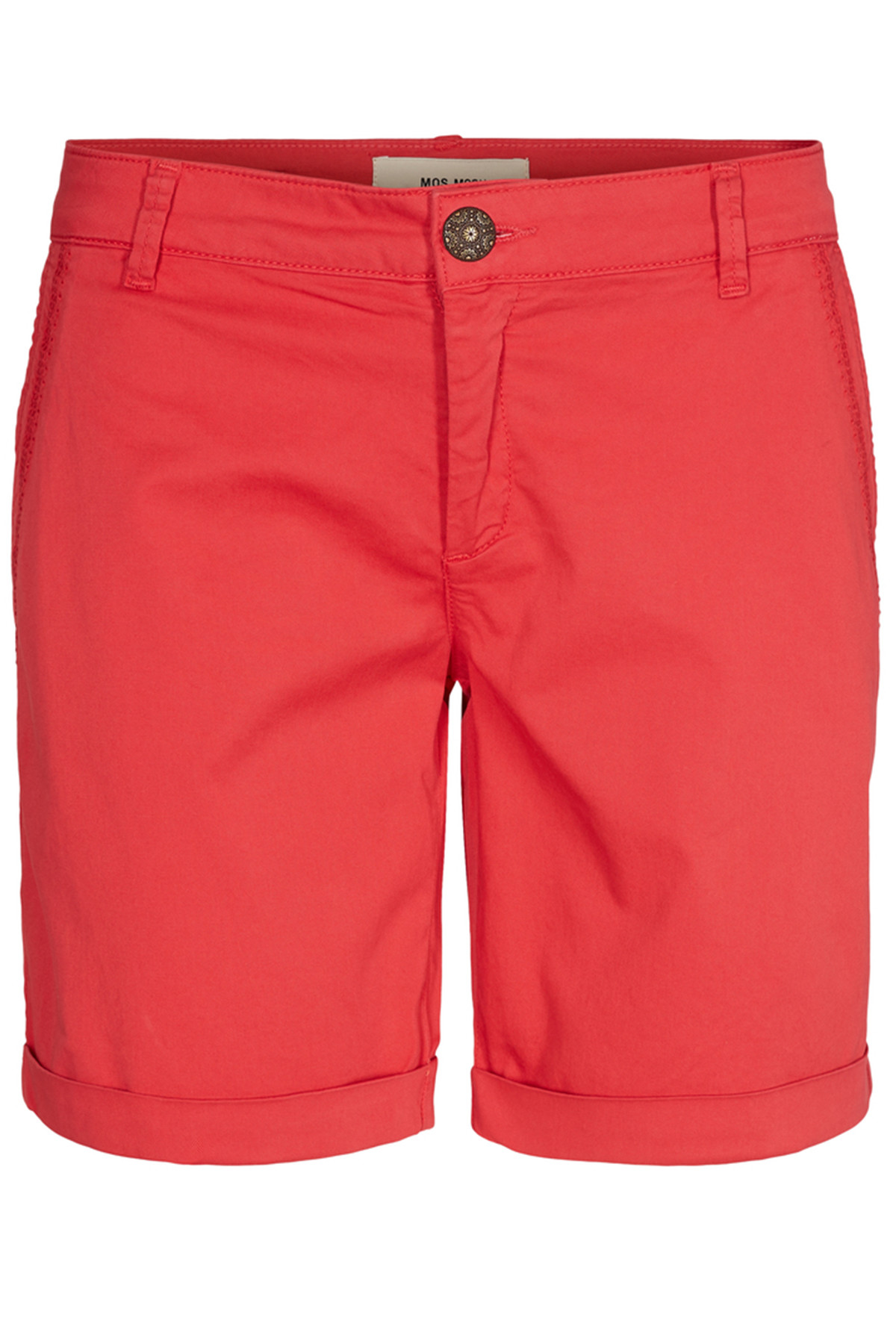 Image of   MOS MOSH PERRY CHINO SHORTS 126510 R (Rio Red, 26)