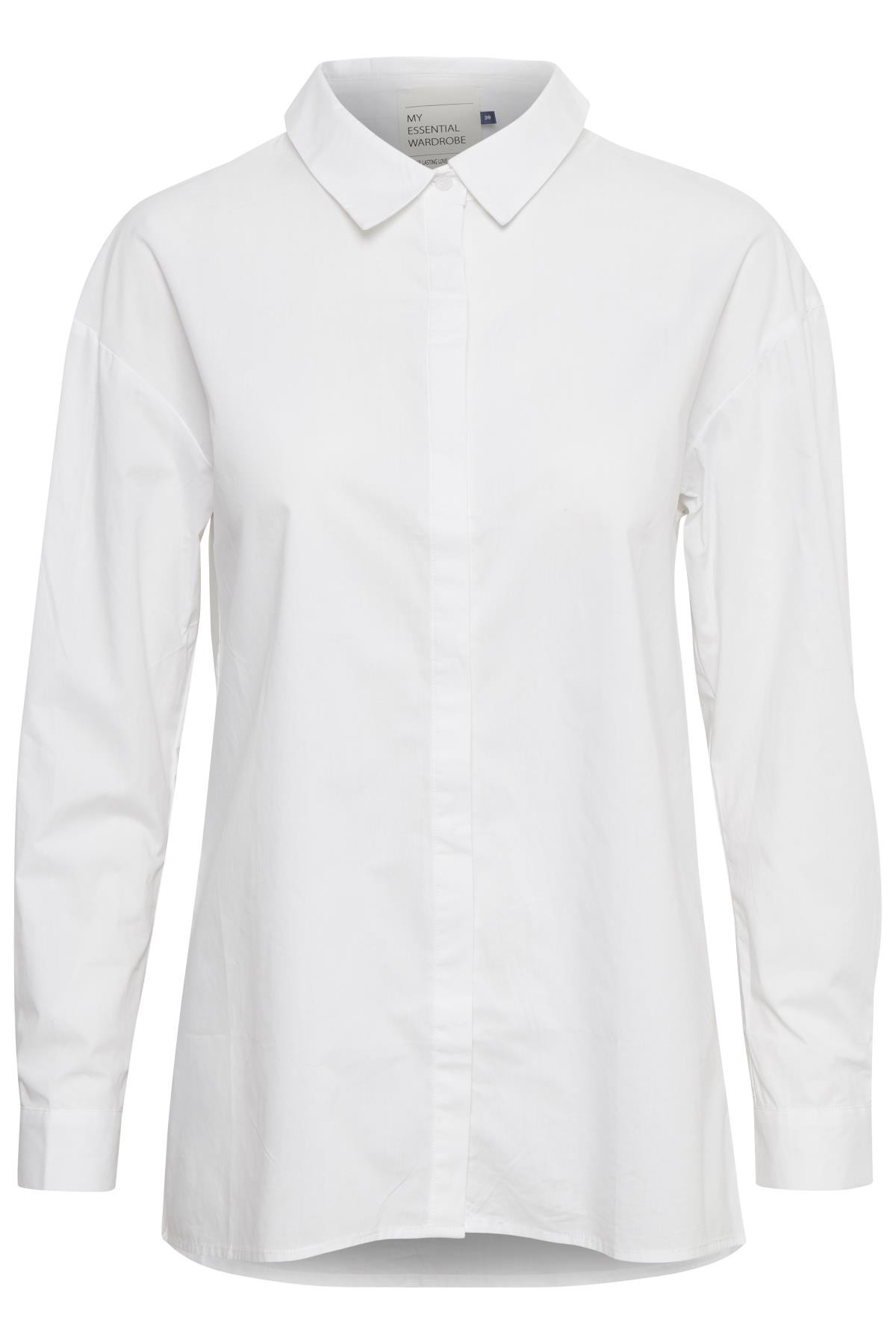 Image of   Denim Hunter 03 THE SHIRT 10702539 O (Optical White 30001, 34)