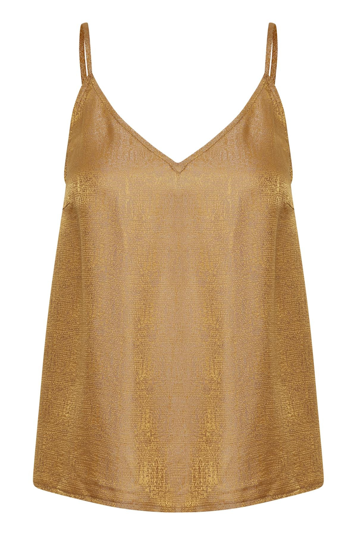 Image of   GESTUZ CAMMAGZ SINGLET (Narcissus Yellow 90576, 34)