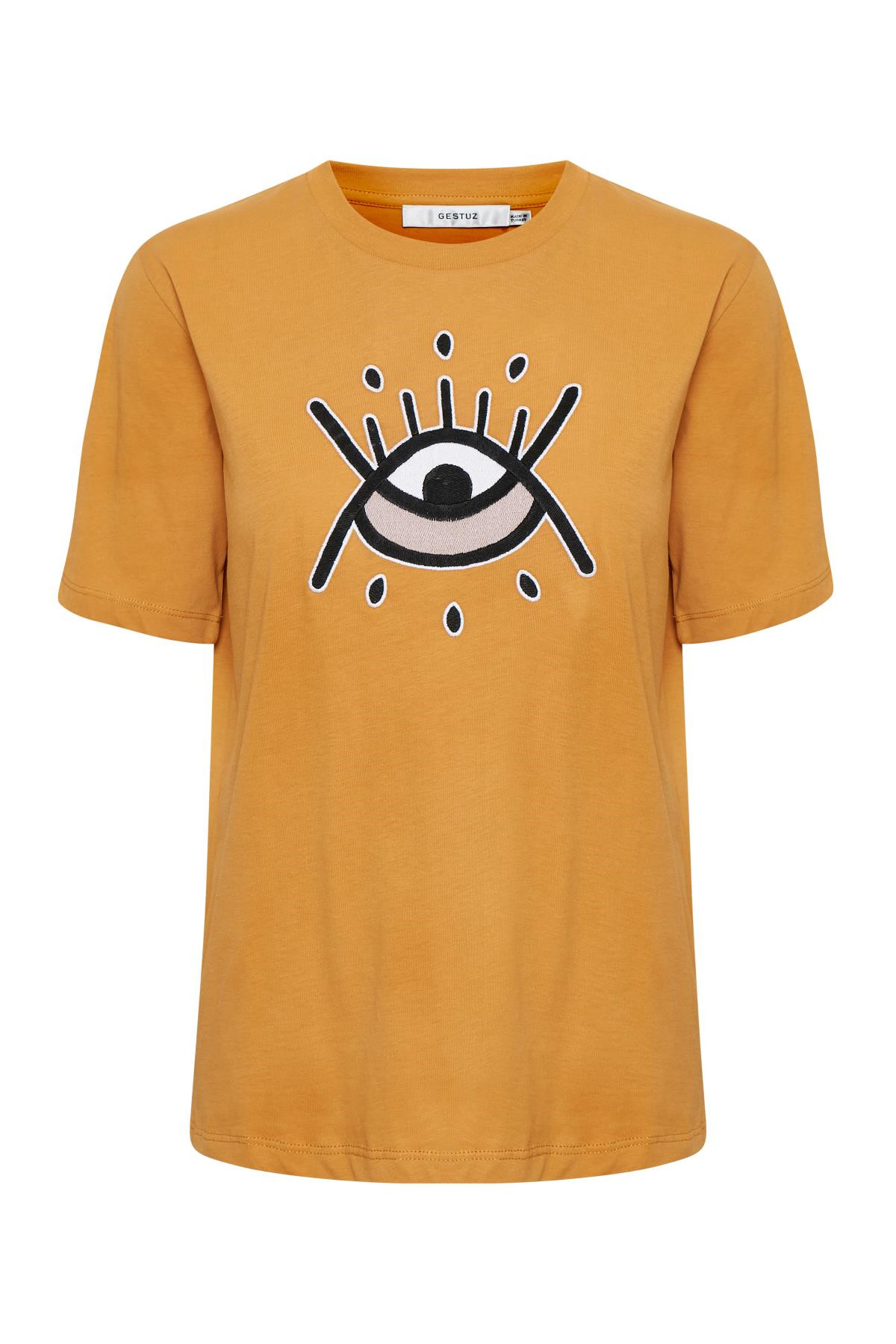Image of   GESTUZ UNIVERSEGZ TEE N (Narcissus Yellow 90576, S)