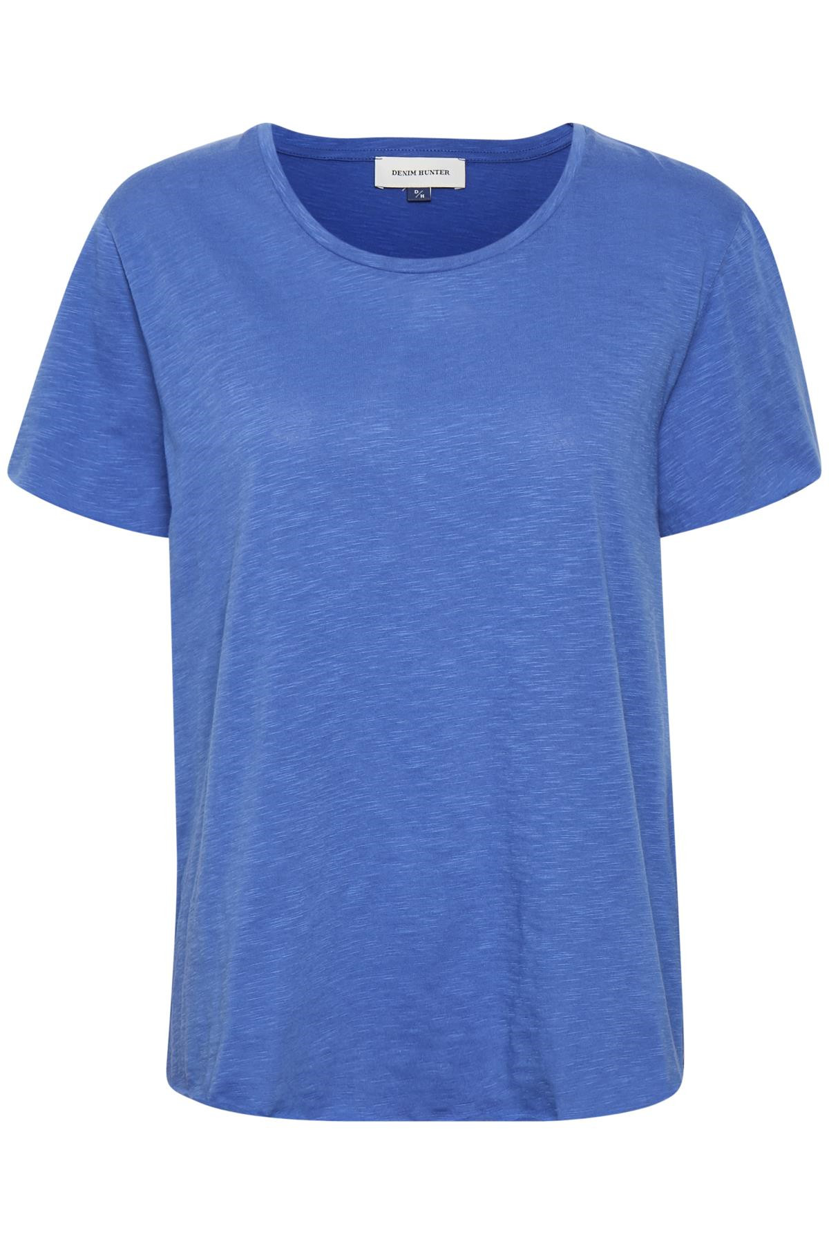 Image of   Denim Hunter LUZ O NECK TEE 10702307 D (Dazzling Blue 38071, XS)
