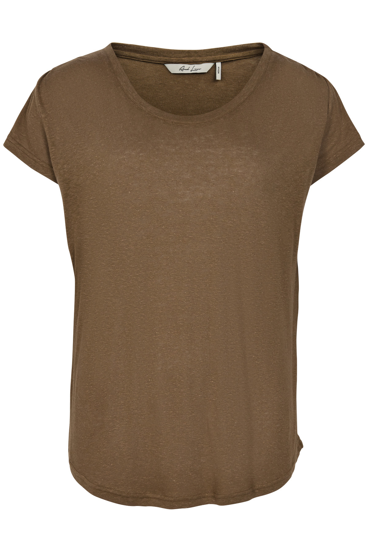 Image of   AND LESS NEW BORAGE BLUSE 5419303 (Teak, XL)