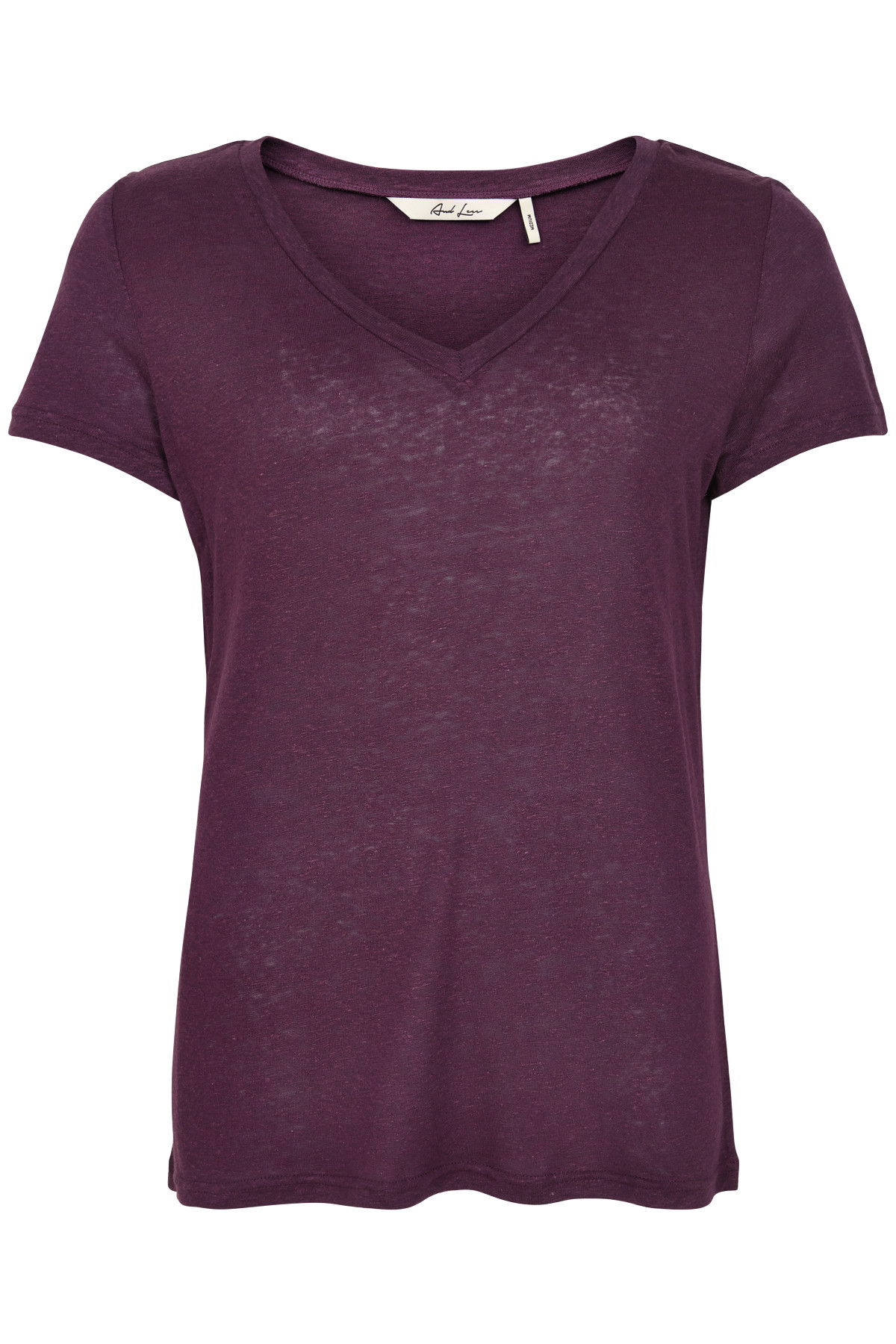 Image of   AND LESS ORSINO BLUSE 5419301 (Plum Perfect, XL)