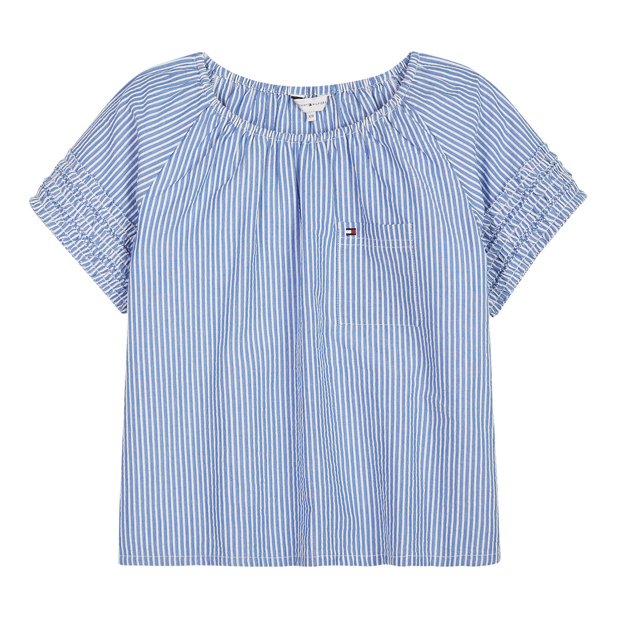 Image of   TOMMY HILFIGER ITHICA SKJORTE 04456 (Shirt Blue, 128)