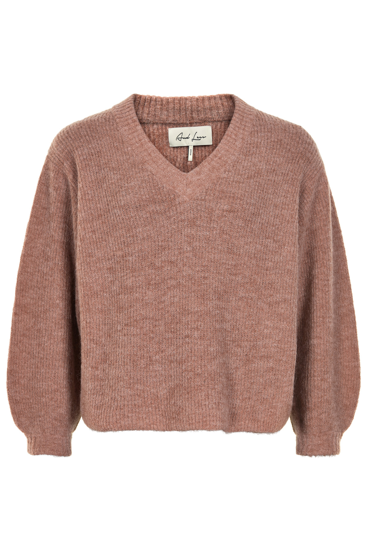 Image of   AND LESS JISKA PULLOVER 5419204 (Burlwood, M)