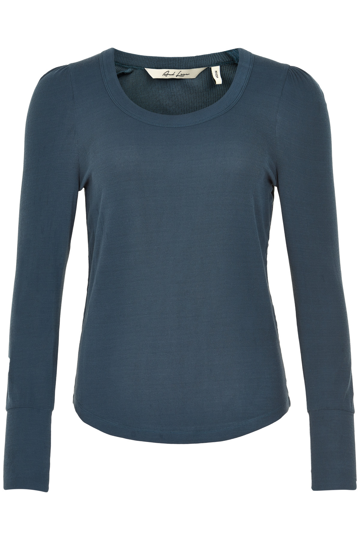 Image of   AND LESS NEW INIGA BLUSE 5419302 O (Orion Blue, XS)