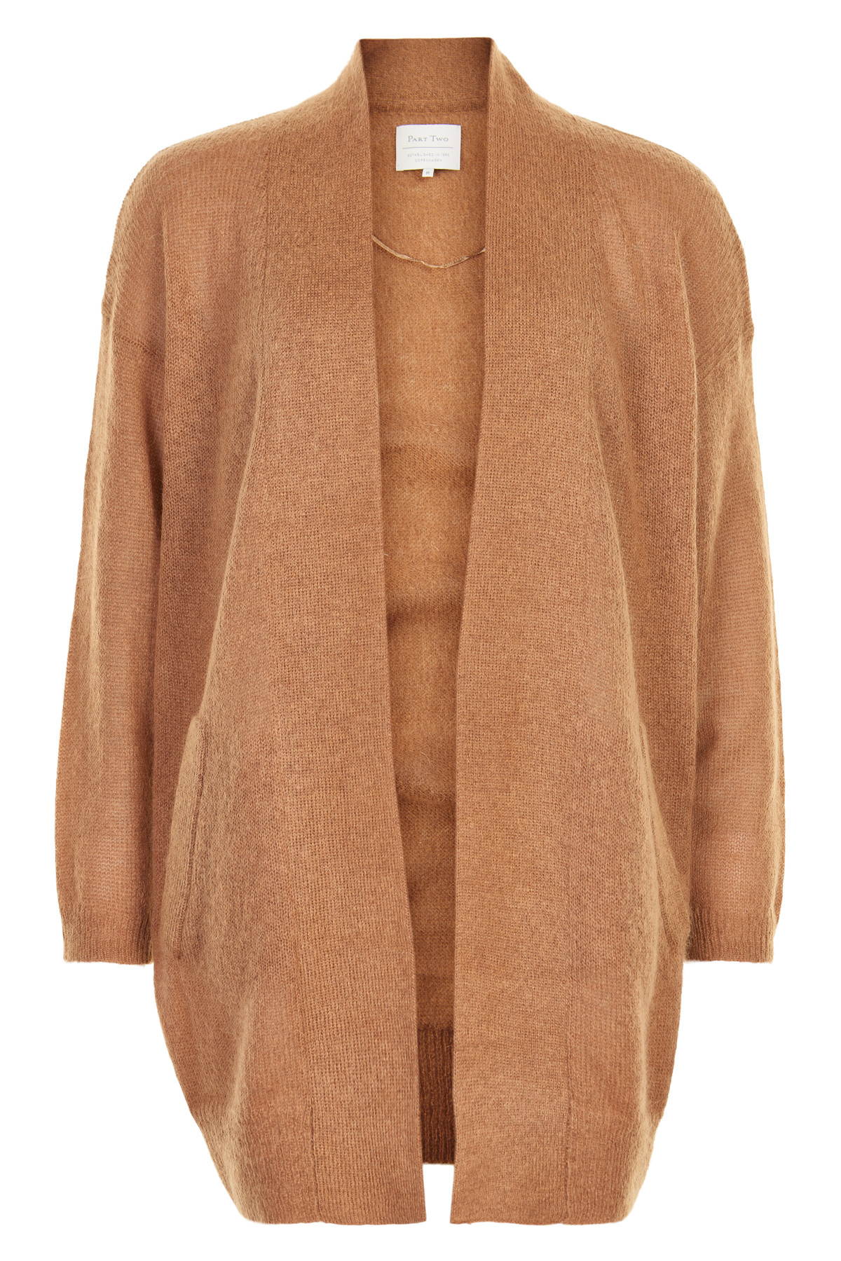 Image of   PART TWO TYLER CARDIGAN 30304435 T (Tobacco Brown 33163, XS)