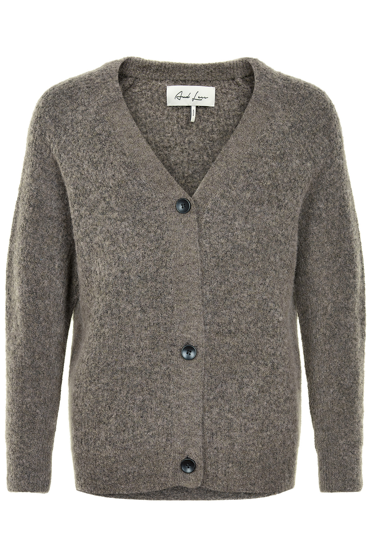 Image of   AND LESS ALENEN CARDIGAN 5519210 W (Walnut, XS)