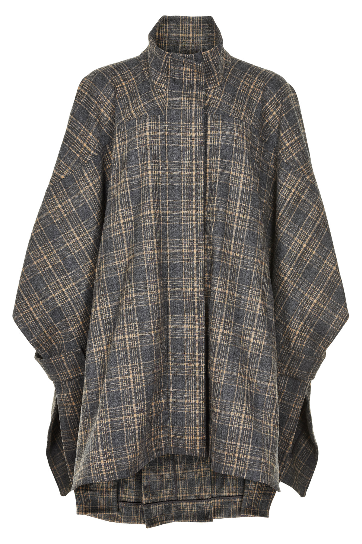Image of   AND LESS ALRAE PONCHO 5519916 (Shadow, ONESIZE)
