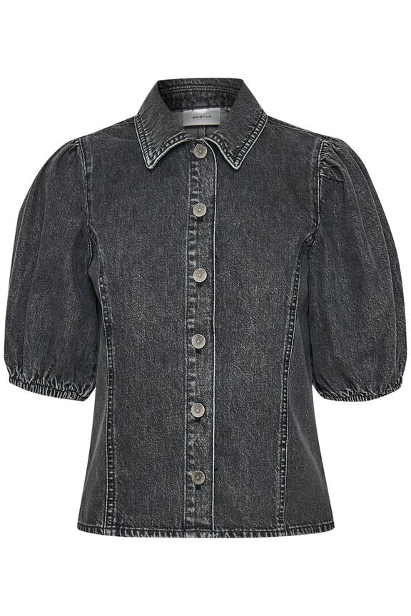 Image of   GESTUZ SIENTAGZ SKJORTE 10904351 (Vintage Black 90868, 40)