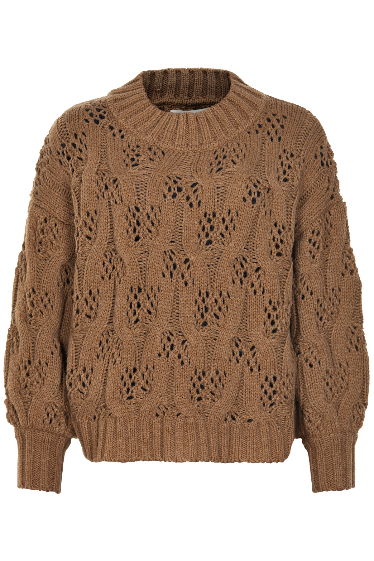 Image of   AND LESS ALHANIE PULLOVER 5519206 (Toasted Coconut, L)