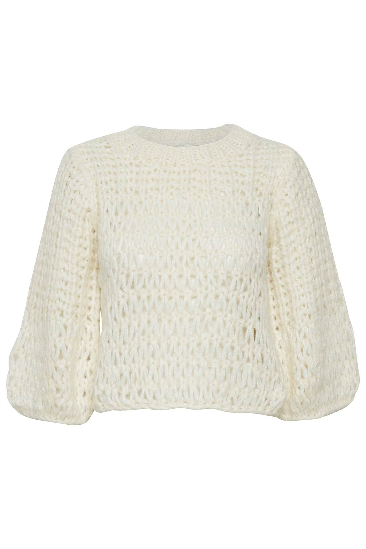 Image of   GESTUZ SAHARGZ PULLOVER 10903939 (Cloud Dancer 90075, L)