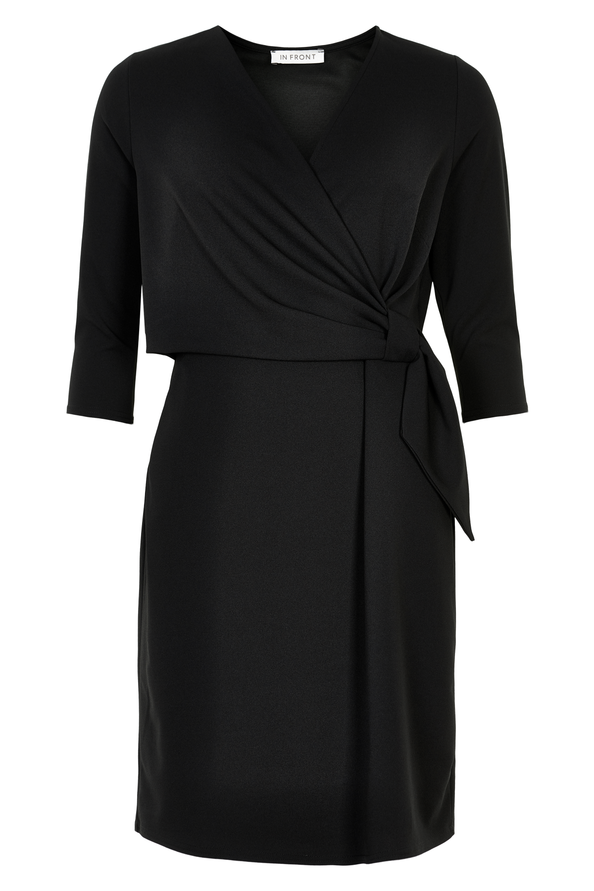 Image of   IN FRONT PERLA KJOLE 13659 (Black 999, XXL)