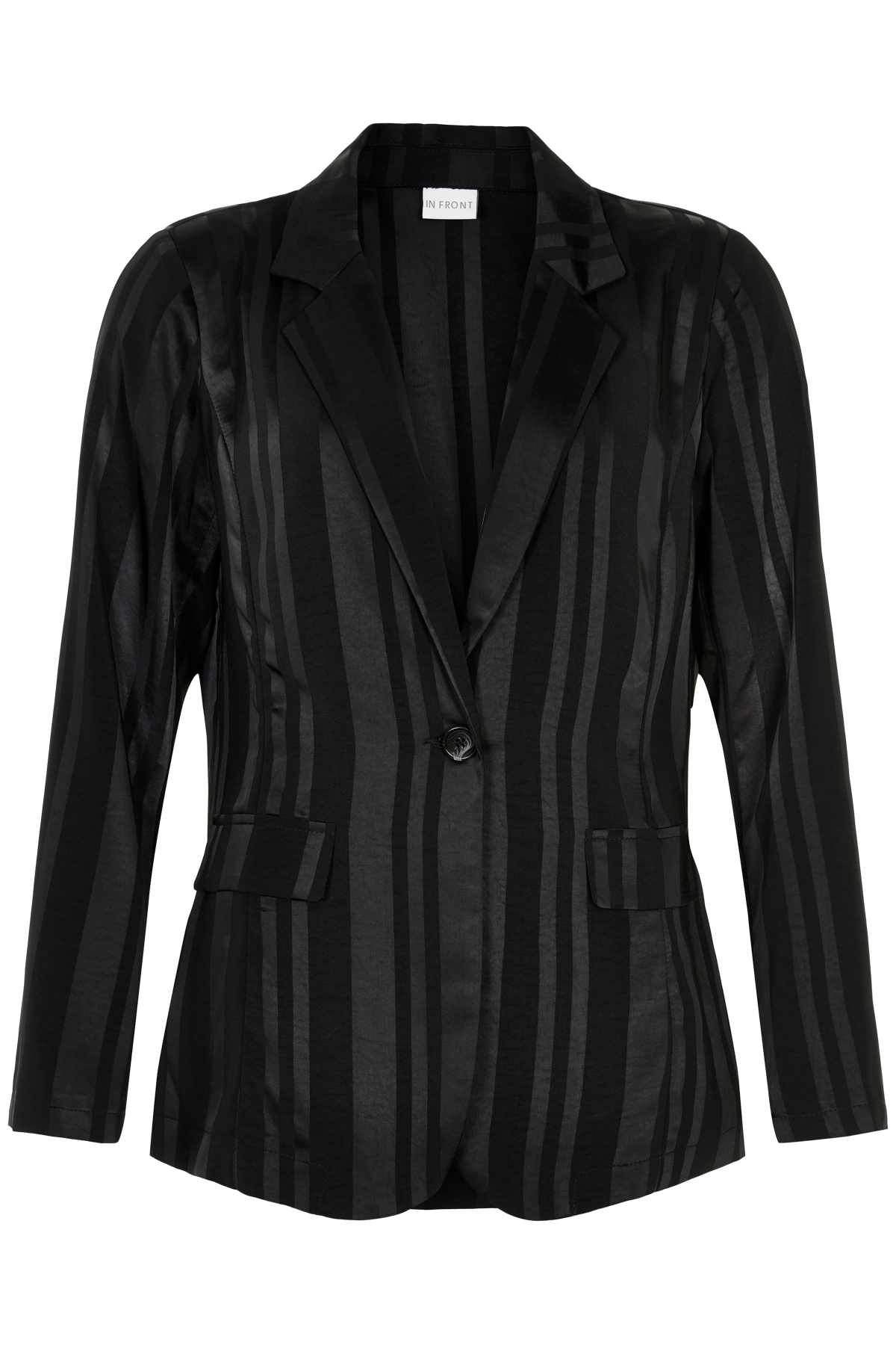 Image of   IN FRONT MIRA BLAZER 13572 (Black 999, L)
