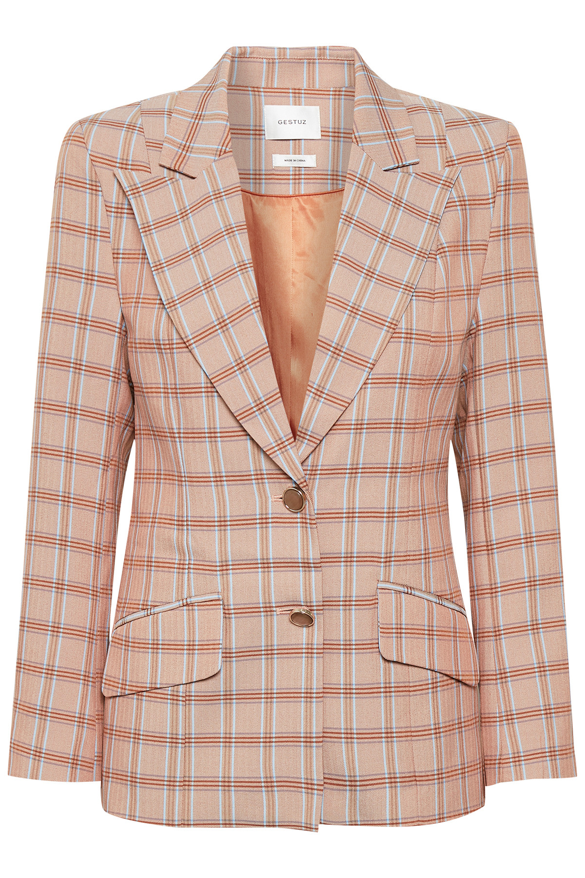 Image of   GESTUZ JINGZ BLAZER 10904090 (Light Brown Herrin 90678, 36)