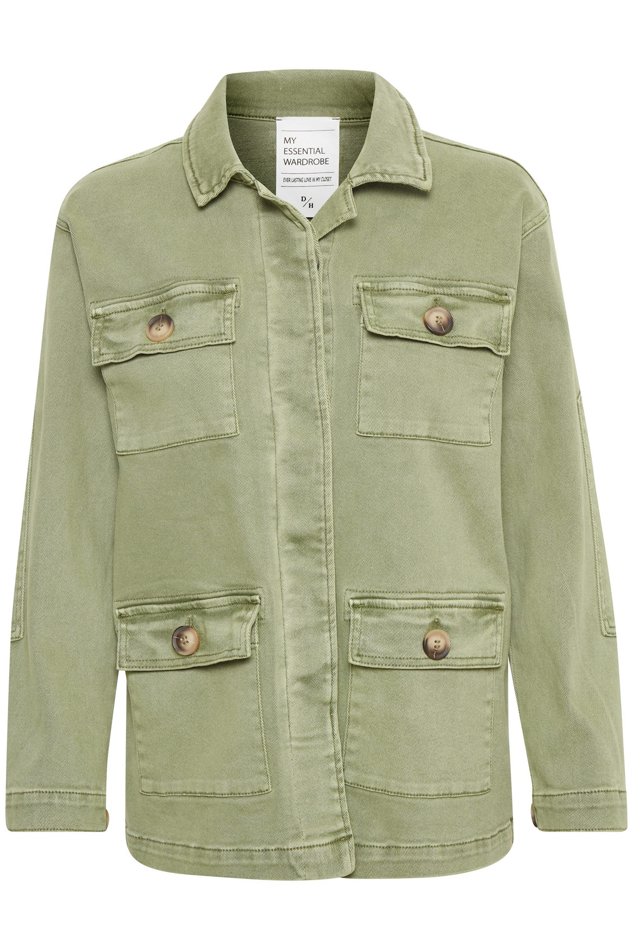 Image of   Denim Hunter 20THE ARMY JAKKE 10702709 (Dusty Olive 37006, 44)