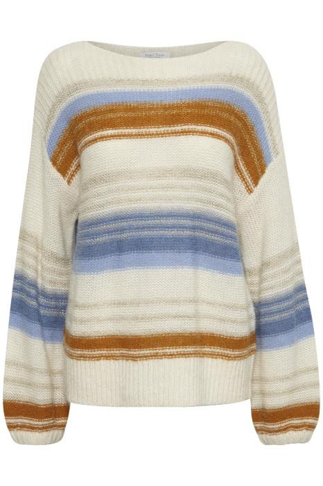 Image of   PART TWO AFRODITE PULLOVER 30304870 (Color Mix Stripe 34154, L)