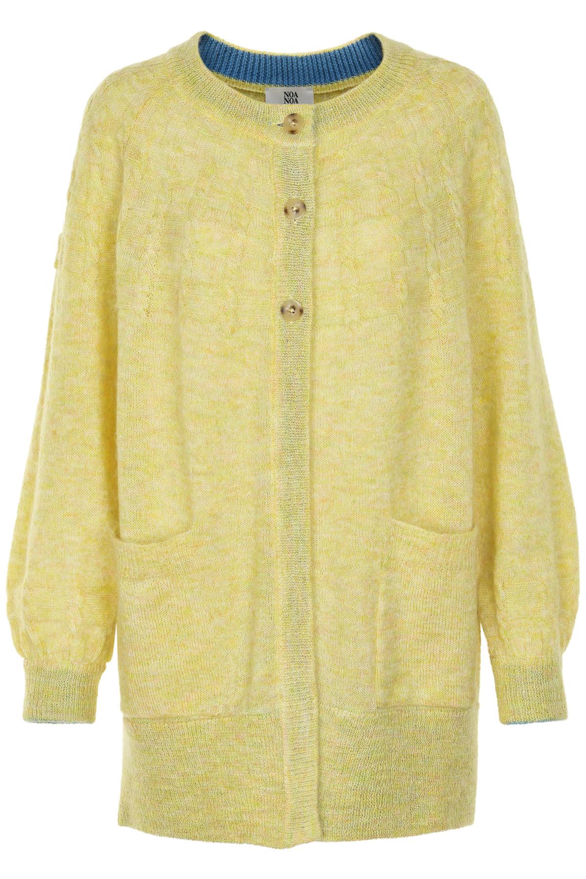 Image of   NOA NOA CARDIGAN 1-9612-1 001027 (Yellow, XL)