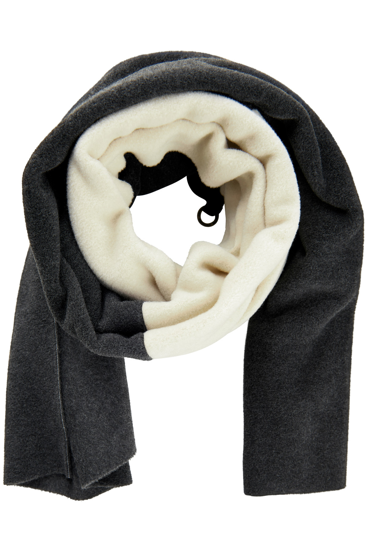 Image of   HENRIETTE STEFFENSEN Copenhagen 4063 TØRKLÆDE SOFT BLACK/WINTER WHITE (Soft Black/Winter W/Soft Black, ONESIZE)