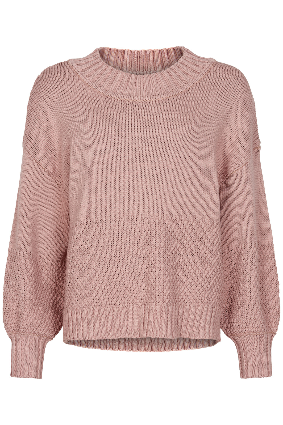 Image of AND LESS ALANIESE PULLOVER 5120203 (Pale Mauve, XL)
