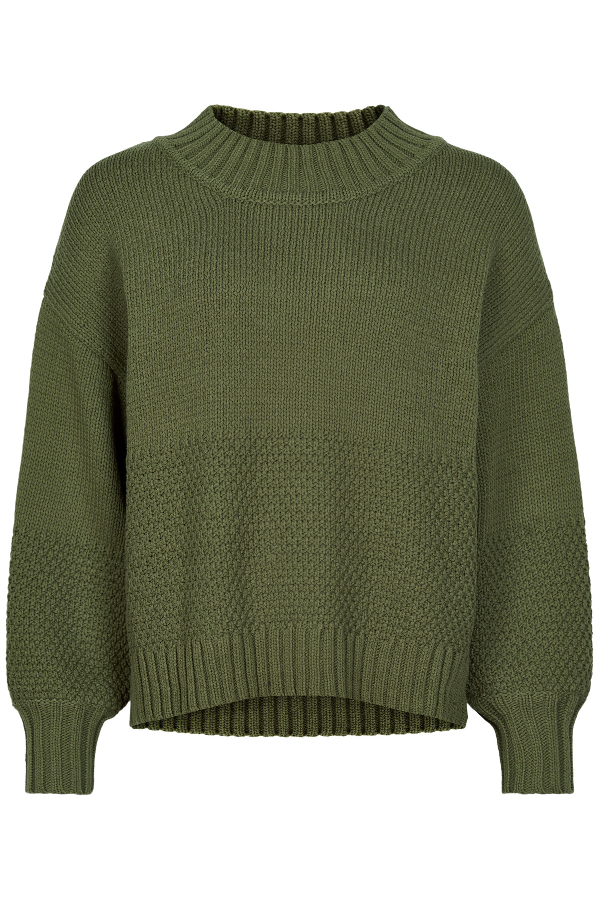 Image of   AND LESS ALANIESE PULLOVER 5120203 I (Ivy Green, M)