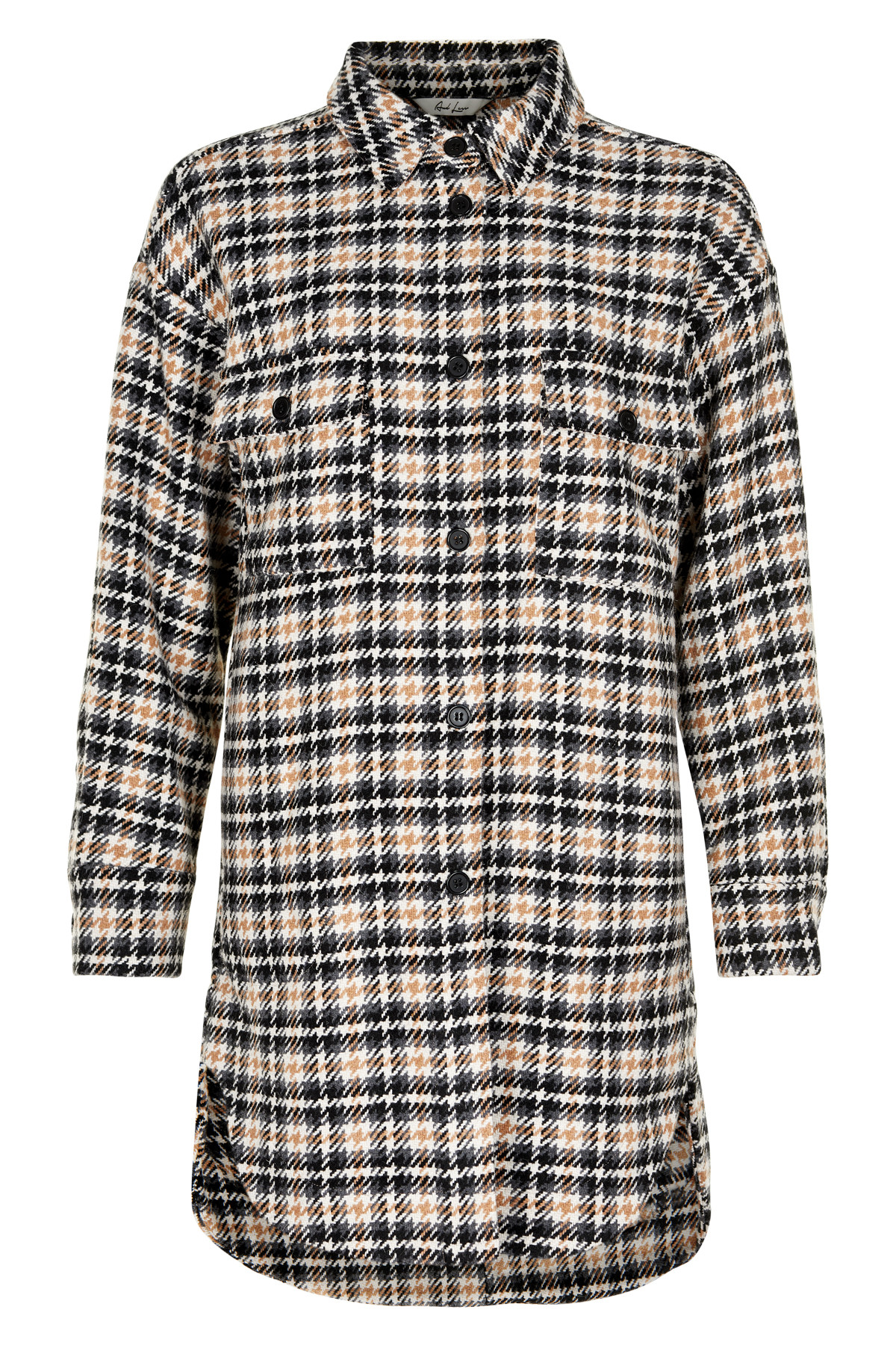 Image of   AND LESS ALHERRY JAKKE 5120904 (Grey Check, 38)