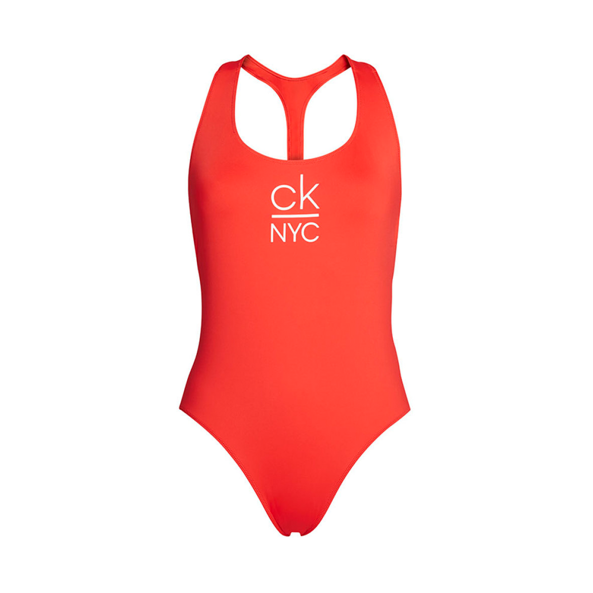 Image of   CALVIN KLEIN SCOOP BADEDRAGT 00986 XBG (High Risk Red, XS)
