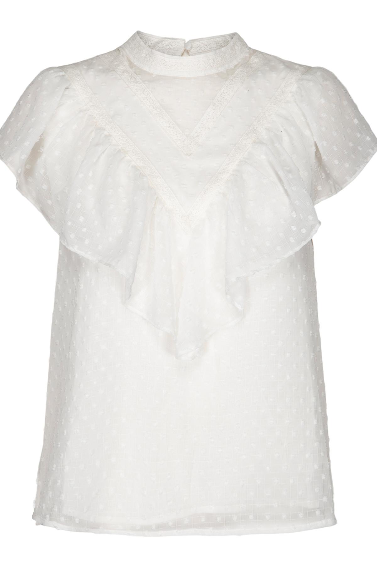 Stribet lyseblå skjorte fra And Less Alace Køb den her!