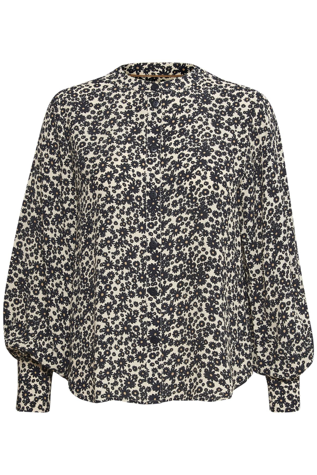 Image of   PART TWO BARBETTEPW BLOUSE 30304969 34181 (Flower Print 34181, 34)