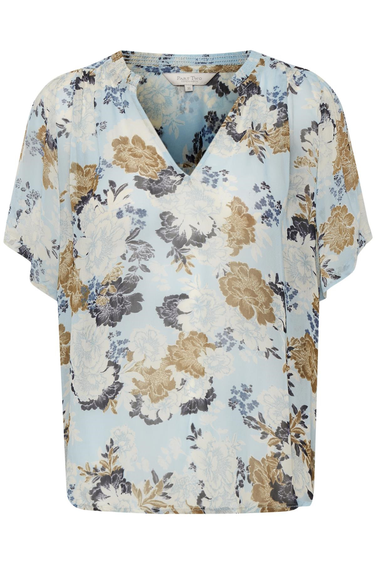 Image of   PART TWO CELESTEPW BLUSE 30305120 (Multi Flower Print 34257, 36)